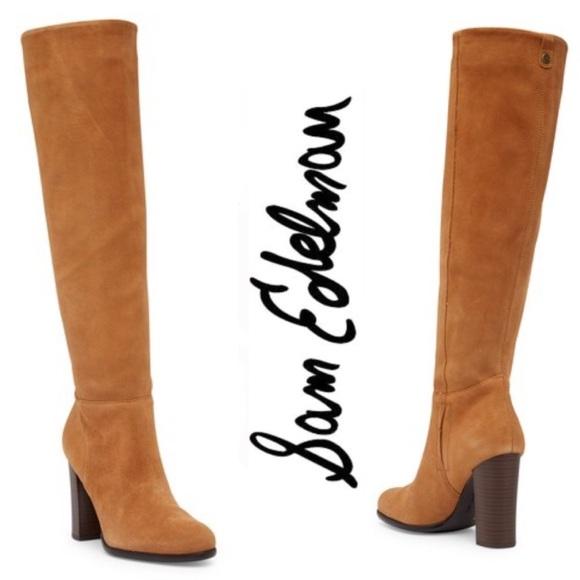 4f7de0c43 Sam Edelman Victoria Tall Suede Boot Size 6